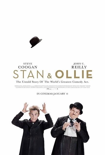 ハリウッド映画創成期を支えたお笑いコンビの実話を描く注目作、19年4月公開決定