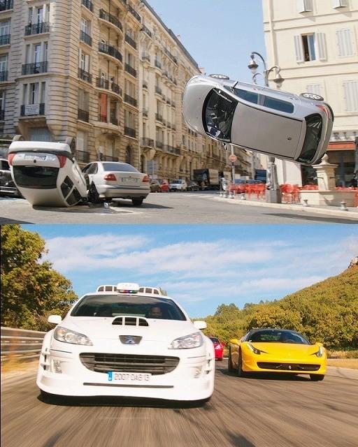 プジョーVSフェラーリ!「TAXi」最新作、ド迫力のカーチェイス公開