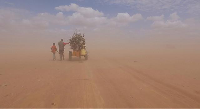 こちらはケニアの難民を捉えた一場面