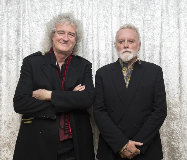 「クイーン」のブライアン・メイと ロジャー・テイラー