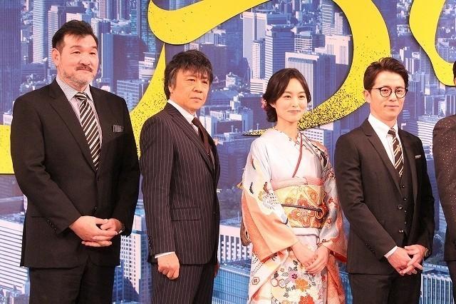 野村萬斎、初のサラリーマン役に「やっと回ってきたか」 香川照之への感謝も明かす