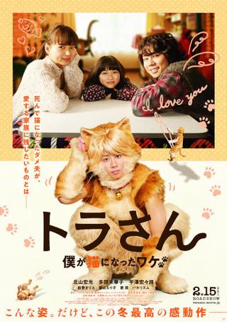 キスマイ北山宏光&飯豊まりえのキュートな猫姿がお披露目 「トラさん」本予告公開