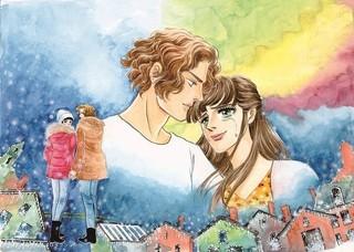 映画「雪の華」が「ベルばら」風に!池田理代子描き下ろしビジュアル公開