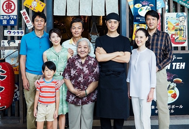 斎藤工×松田聖子「家族のレシピ」美食と記憶をめぐる予告編完成