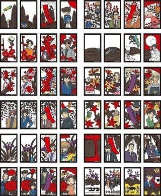 「名探偵コナン」キャラクター28人の花札が4月発売