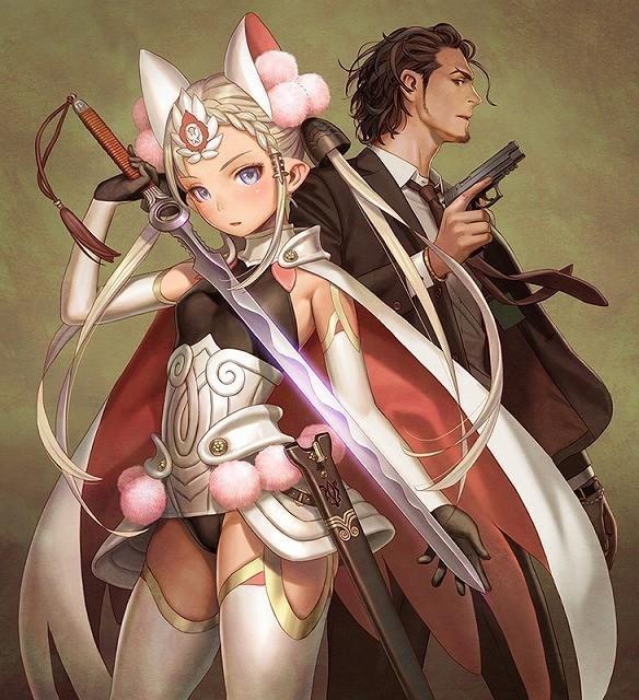 刑事と女騎士のコンビが凶悪犯罪に挑む