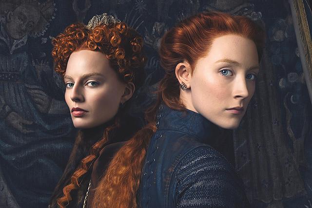 2人の女王のし烈な戦いを描く