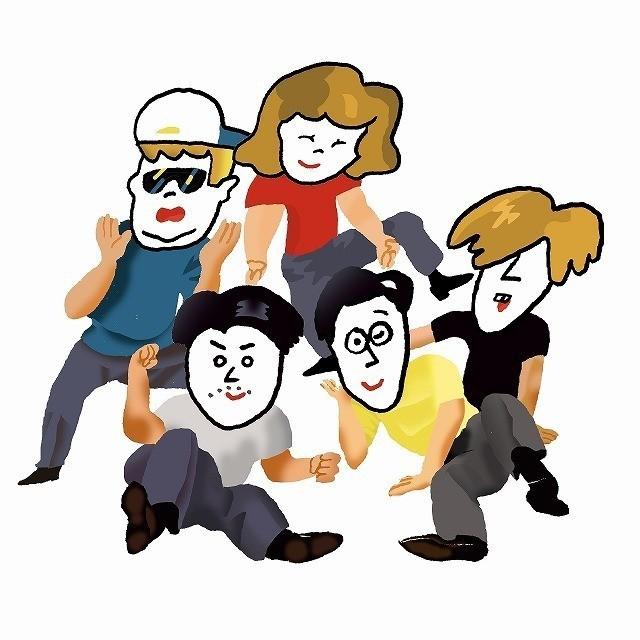男女混合5人組の注目バンド「フレンズ」