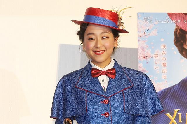 浅田真央、メリー・ポピンズの衣装で登場! 悩んだ時期救ってくれた作品に感謝 - 画像3
