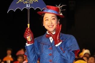浅田真央、メリー・ポピンズの衣装で登場! 悩んだ時期救ってくれた作品に感謝