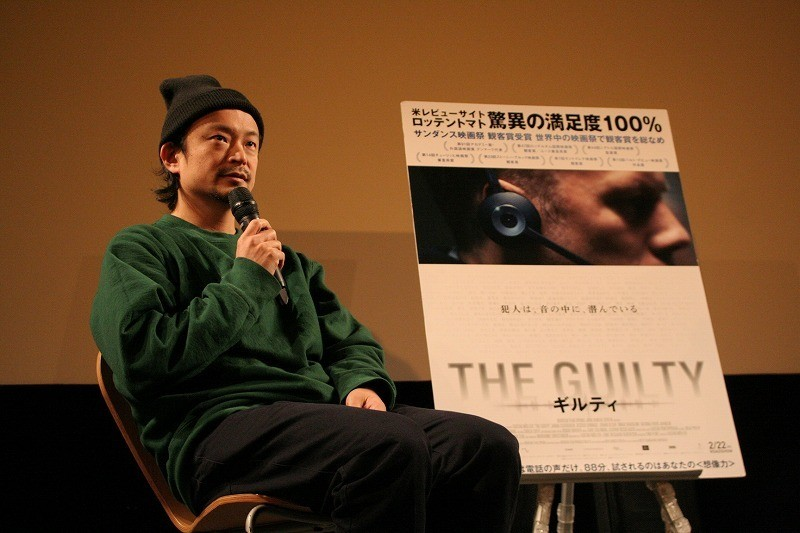 真鍋大度氏、音声だけで展開するサスペンス「THE GUILTY」は「音響彫刻のような映画」