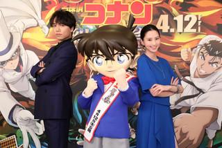 山崎育三郎&河北麻友子がコナン&キッドと対決 劇場版「名探偵コナン」ゲスト声優決定