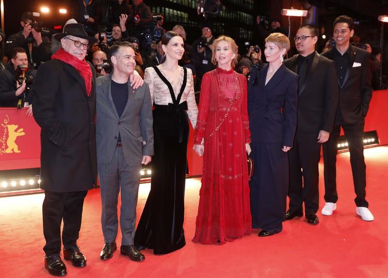 ベルリン国際映画祭開幕!ジュリエット・ビノシュ審査委員長らが会見