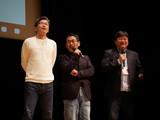 HTB開局50周年ドラマ「チャンネルはそのまま!」最速上映 新人アナ役・宮下かな子を演出陣が絶賛