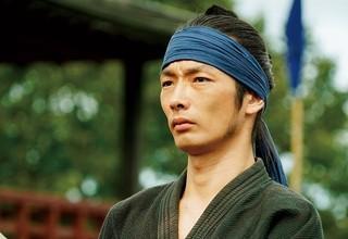 森山が演じたのは、 雪姫との結婚を目論む辻村平九郎「サムライマラソン」
