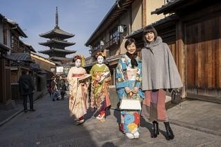 京都での撮影風景「最高の人生の見つけ方」