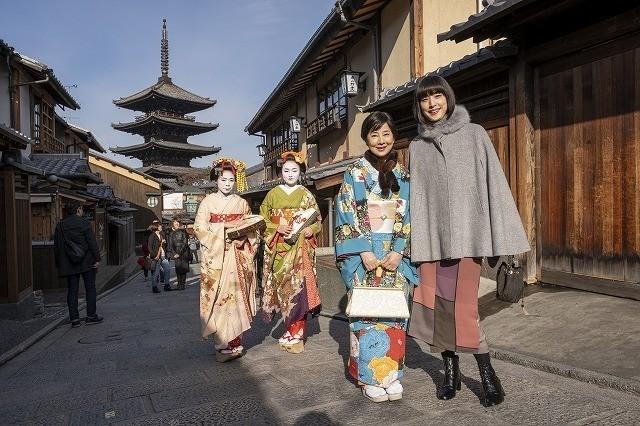京都での撮影風景