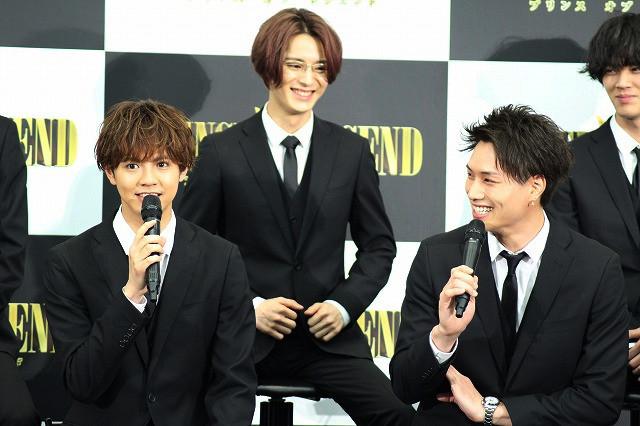 """鈴木伸之、""""推し王子""""の片寄涼太に「抱かれたいです」!?"""