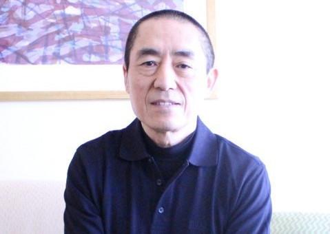チャン・イーモウ監督(2015年の来日時に撮影)