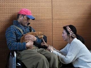 「おんな城主 直虎」の柴咲コウ&小林薫&にゃんけいが再会!「ねことじいちゃん」オフショット