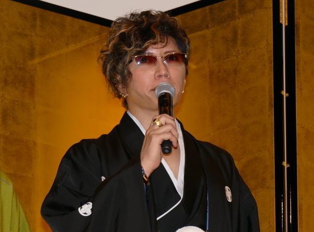 GACKT、伊勢谷友介とのキスシーン自ら提案「どうしてもチューしたかった」