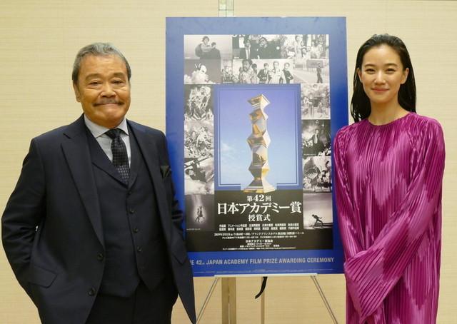 司会を務める西田敏行&蒼井優