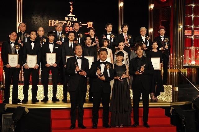 是枝裕和監督作「万引き家族」が最優秀作品賞を含む8冠