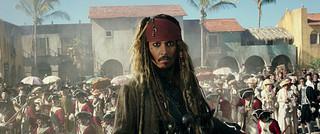 順調な航海とはならなかった模様「パイレーツ・オブ・カリビアン 最後の海賊」