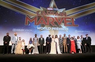 「キャプテン・マーベル」ワールドプレミア開催!「アベンジャーズ」シリーズ監督陣も集結