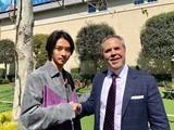 山崎賢人、実写「キングダム」引っさげハリウッド訪問 流暢な英語で熱意伝える
