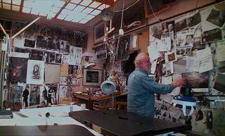 アニメーションの神様、ユーリー・ノルシュテインの制作風景映像を公開