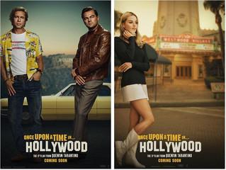 海外版ティザーポスター2種「ワンス・アポン・ア・タイム・イン・ハリウッド」