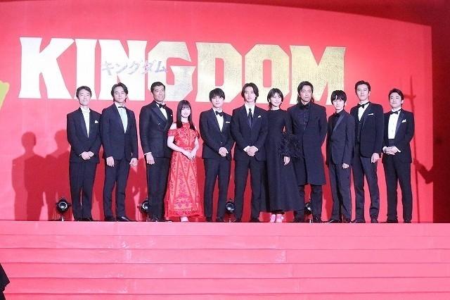 実写「キングダム」は「日本映画の記録を更新していく」 山崎賢人らが大きな自信