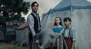 【全米映画ランキング】ティム・バートン監督による実写版「ダンボ」が首位デビュー