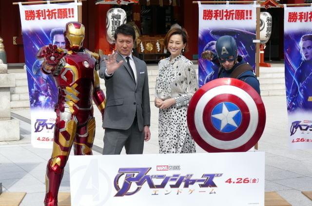 日本語吹き替え版で声優を務めた加藤浩次と米倉涼子