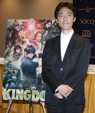 「キングダム」佐藤信介監督、コミック原作の映画化は「だいご味持たせることしか頭にない」