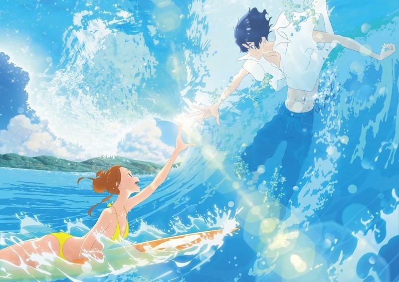 湯浅政明監督「きみと、波にのれたら」アヌシー国際アニメ映画祭の長編コンペ部門出品