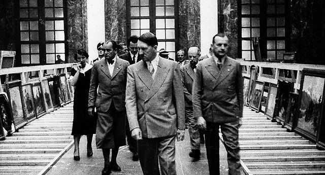 青年期に画家を目指していたヒトラー