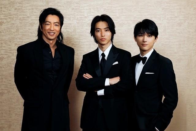 3ショットインタビューに応じた山崎賢人&吉沢亮&大沢たかお