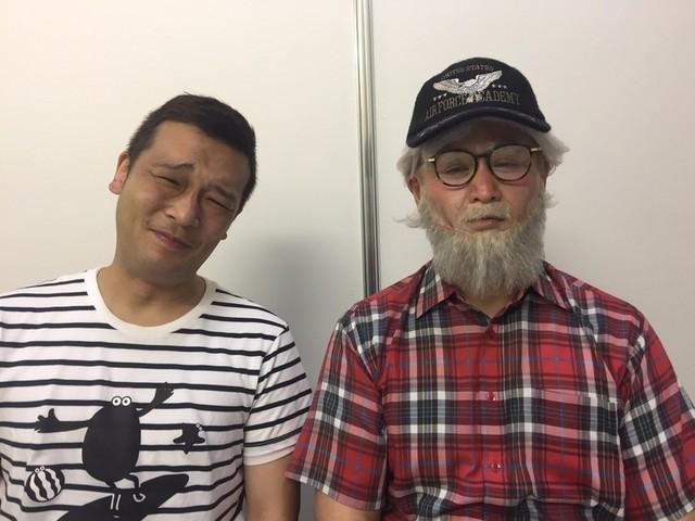 「ガリットチュウ」の福島善成と熊谷茶