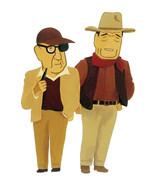 ジョン・フォードとジョン・ウェイン(「CALENDAR 1996 CINEMA 101 DIRECTORS」より)