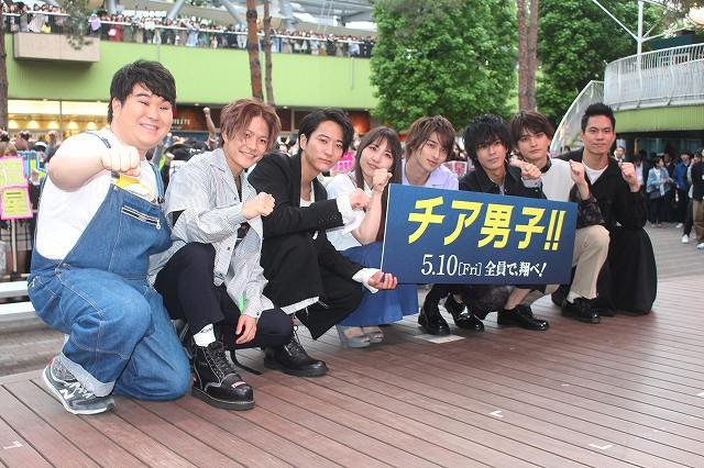 横浜流星、女性ファン3000人の歓声&絶叫に「すごく気持ちいい!」 - 画像1