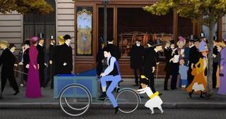 少女がベルエポックのパリへ…ミッシェル・オスロ最新作「ディリリとパリの時間旅行」予告