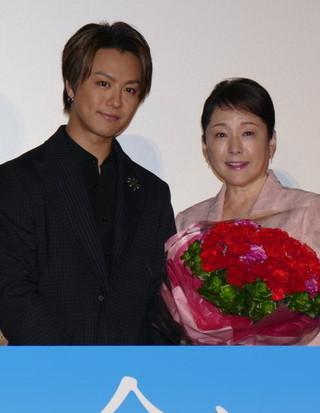 TAKAHIRO、母親演じた松坂慶子にカーネーション「これからもお母さんと呼ばせて」