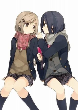 女子高生2人の日常をゆるく描くライトノベル「安達としまむら」テレビアニメ化決定