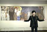 稲垣吾郎、クリムトの名画と対面「心奪われる感覚」