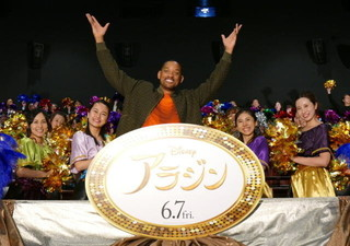 ウィル・スミス、「アラジン」ジーニー役は「キャリア30年の集大成!」