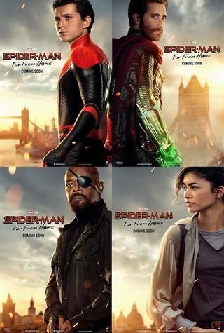 今度の「スパイダーマン」鍵を握るのはこの4人!キャラポスター公開