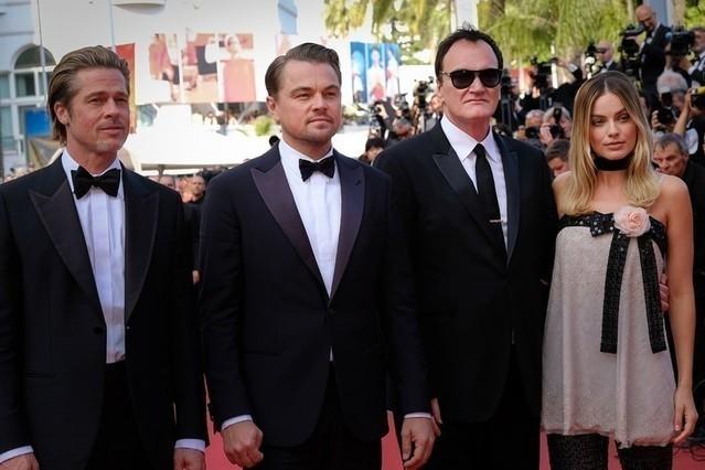 第72回カンヌ映画祭に出品した「ワンス・ アポン・ア・タイム・イン・ハリウッド」 キャストとタランティーノ監督