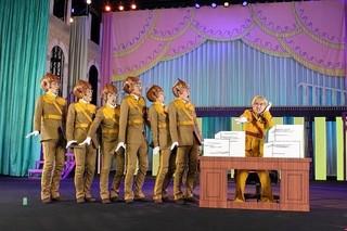 「劇場版パタリロ!」タマネギ部隊のイケメン素顔が明らかに!